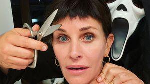 """Courteney Cox recycelt """"Scream""""-Kultfrisur zu Halloween"""