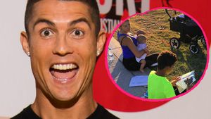Süßes Familien-Pic: Cristiano Ronaldo im Patchwork-Glück!