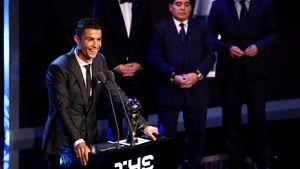 5. Mal Welt-Fußballer: Ronaldo schon wieder an der Spitze!