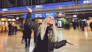 Dagi Bee am Frankfurter Flughafen