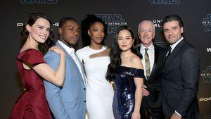 """Starauflauf bei der Premiere des letzten """"Star Wars""""-Films"""