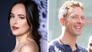 Doch nicht Jon Hamm? Dakotas Kuschel-Date mit Chris Martin!