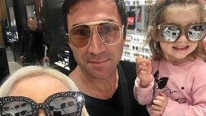 Aua! Klein-Sophia bringt Papa Lucas Cordalis ins Krankenhaus