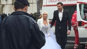 Daniela Katzenberger und Lucas Cordalis in Rom