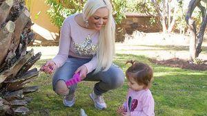 Daniela Katzenberger und Töchterchen Sophia