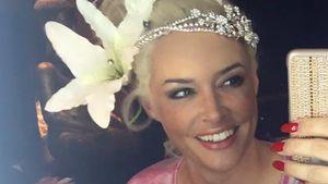 Daniela Katzenberger zeigt scherzhafte Hochzeitsfrisur