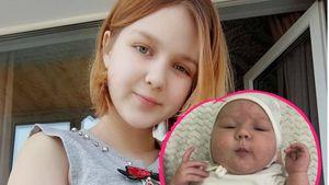 Neu-Mama Darya (14) zeigt erstmals Gesicht von Baby Emily