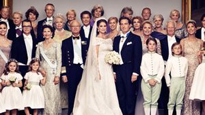 Prinzessin Madeleine: Das offizielle Hochzeitsfoto