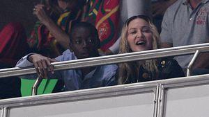 Wie die Mama: Madonnas Zwillingsmädchen mögen's modisch