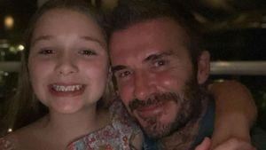 Vic Beckham entzückt: Harper auf Date mit Mama und Papa