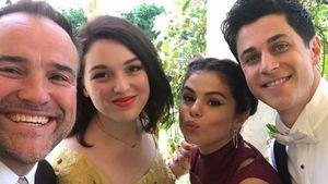 David DeLuise, Jennifer Stone, Selena Gomez und David Henrie