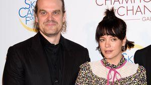 Reserviertes Red-Carpet-Debüt von Lily Allen & Freund David