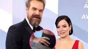 Fetter Klunker: Sind Lily Allen und David Harbour verlobt?