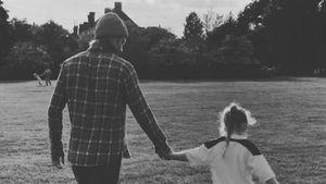 Training mit Papa David: Wird Harper Beckham Fußballerin?