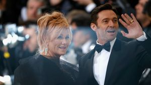 Deborra-Lee Furness und Hugh Jackman 2017 in New York