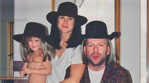 Zu Bruce Willis' Geburtstag: Ex Demi teilt süßes Family-Foto