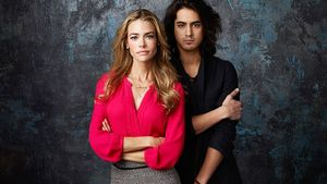Denise Richards und Avan Jogia