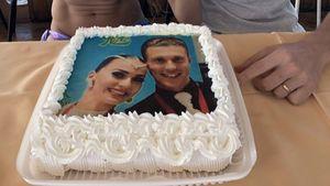"""Mit Torte: """"Let's Dance""""-Renata & Valentin feiern Jahrestag"""