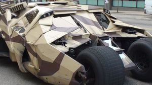 Original-Batmobil steht heute auf der Fan-Meile!