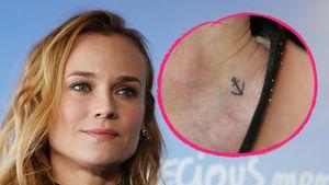 Wette mit Fatih Akin: Diane Kruger ließ sich Tattoo stechen