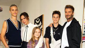Gehören die Beckhams zu den schönsten Promi-Familien ever?