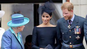 Von wegen Xmas-Ärger! Queen erlaubte Harry und Meghans Reise