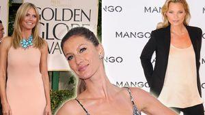 Heidi Klum, Kate Moss, Gisele Bündchen, Tyra Banks und Christie Brinkley