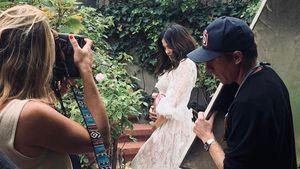 Bauchstreicheln: Schwangere Jenna Dewan setzt sich in Szene