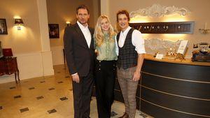 """""""Sturm der Liebe""""-Dieter vermisst Larissa Marolt & Sebastian"""
