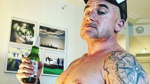 """""""Prison Break""""-Star Dominic Purcell zeigt seine Bier-Plauze"""