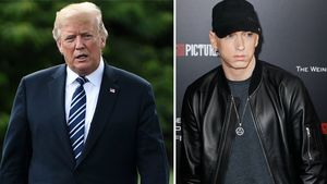 Wegen Trump-Diss in Song: Secret Service hinter Eminem her