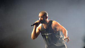 Drake auf der Bühne in London