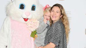Drew Barrymore mit ihrer Tochter Frankie