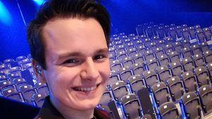 Selfie von DSDS-Kandidat Sandro Brehorst