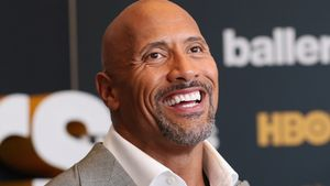 "Dwayne ""The Rock"" Johnson bei einer Premiere in Miami"