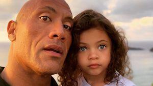 """Süß! So feiert """"The Rock"""" fünften Geburtstag seiner Tochter"""