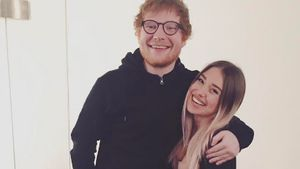 Ed Sheeran und Bibi Heinicke