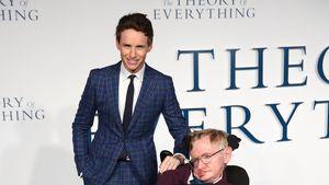 Stephen Hawking: Film-Star Eddie Redmayne nimmt Abschied!