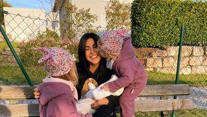 Premiere: Dreifach-Mama Inci Sencer posiert mit ihren Mädels