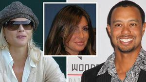 Tiger Woods, Elin Nordegren und Rachel Uchitel