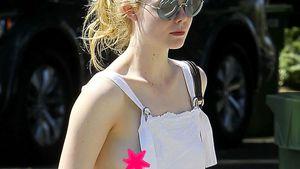 Nippelgate: Elle Fannings Freizeitlook wird zur Outfit-Panne