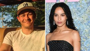 Datet Katie Holmes' Ex Emilio nun etwa Filmstar Zoe Kravitz?