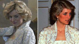 """Für """"The Crown"""": Emma Corrin kopiert Dianas New-York-Look"""