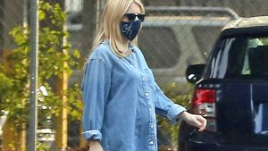 Stylisher Babybauch: So lässig ist Emma Roberts Umstandsmode