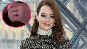 Verdächtiger Ring: Hat Emma Stone doch schon geheiratet?
