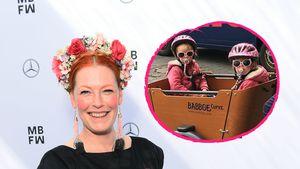 Selten: Enie van de Meiklokjes postet Foto ihrer Zwillinge