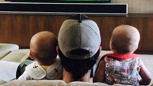 Enrique Iglesias: Seine Twins zum ersten Mal auf einem Pic