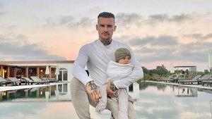 """""""Liebe es, Vater zu sein"""": Eric Stehfest postet Babybild"""