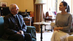 Erzbischof von Canterbury und Angelina Jolie