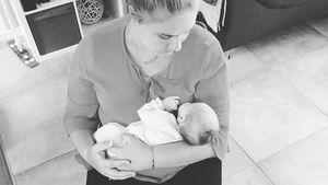 Mit Tante Estefania: Seltenes Kuschelfoto mit Sylvanas Baby!